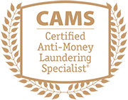Certified Anti-Money Laundering Specialist Logo